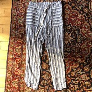 Vince Camuto Linen Pants